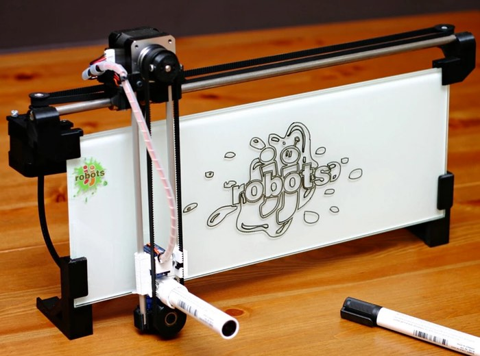 iBoardbot Internet Controlled Whiteboard Robot