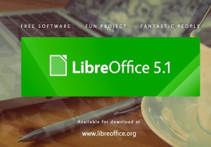 LibreOffice 5.1Update Adds Remote Server Support, New UI And More (video)