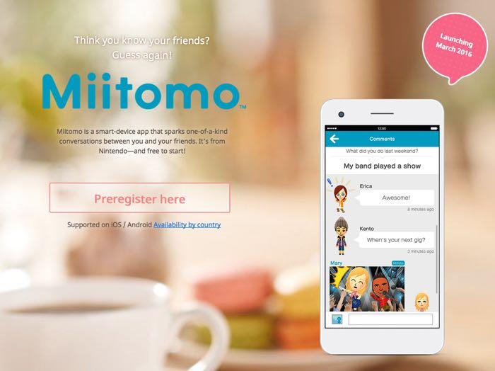 Nintendo Miitomoto