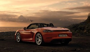 Porsche 718 Boxster Goes For A Spin (Video)