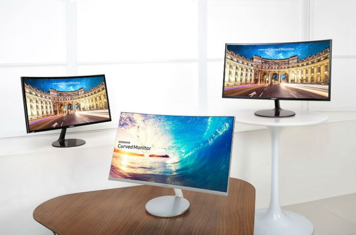 samsung curved monitors