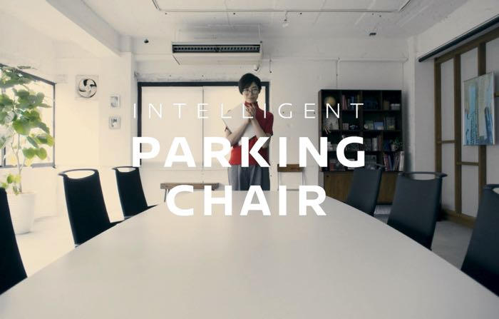 self parking office chairs