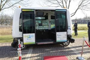 Driverless Wepod Public Testing Kicks off in the Netherlands