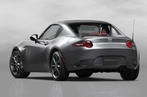 Mazda MX-5 RF Announced At New York Auto Show