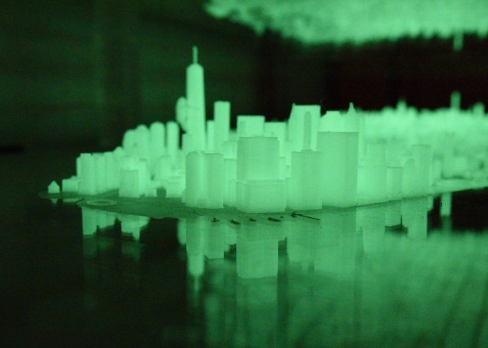 3D Printed Map of Manhattan