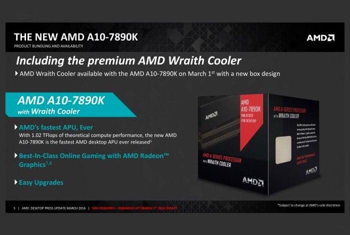 AMD A10-7890K & Athlon X4 880K Processors