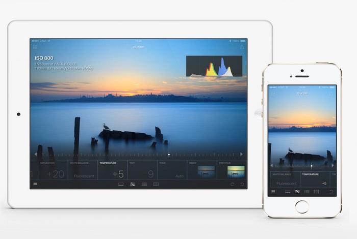 Adobe Lightroom iOS