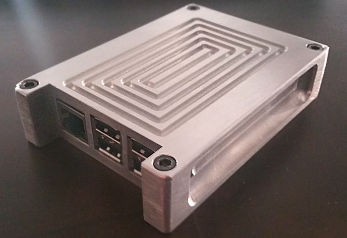 Aircraft Grade Aluminium Raspberry Pi Case