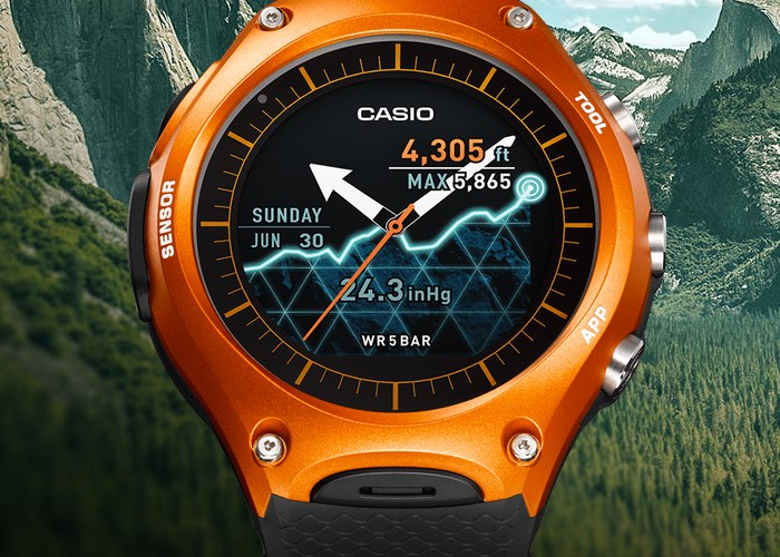 Rugged Casio WSD-F10 Android Wear Watch Now Available For $500 (video)