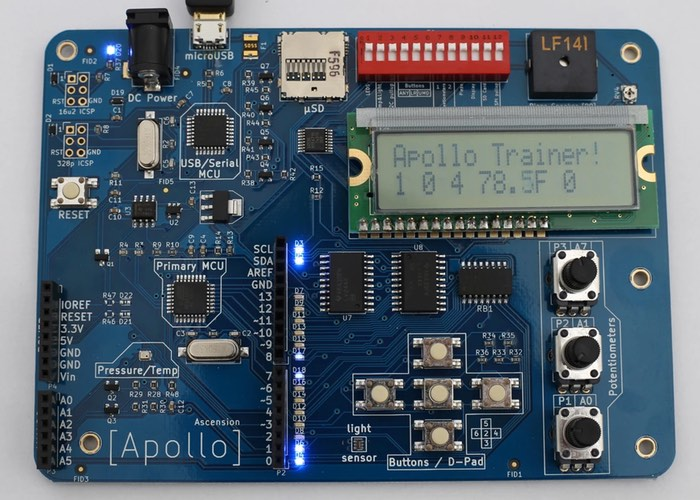 Apollo Arduino Training Board