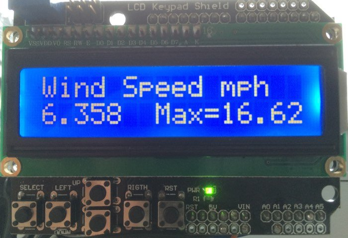 Arduino Wind Speed Meter Anemometer arduino wind speed meter anemometer project geeky gadgets Anemometer Arduino Feet per Minute at edmiracle.co