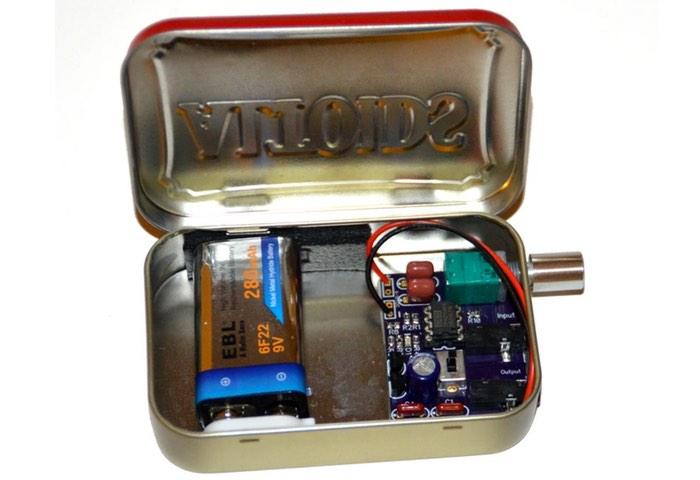 Deluxe CMOY Headphone Amplifier