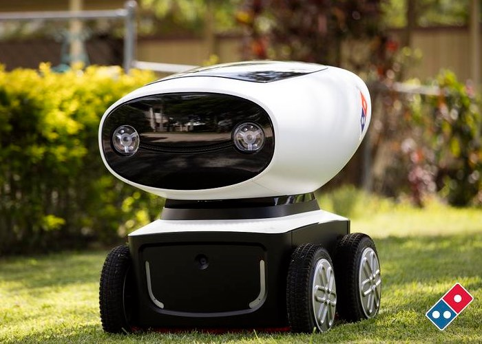 Domino Autonomous Pizza Delivery Robot