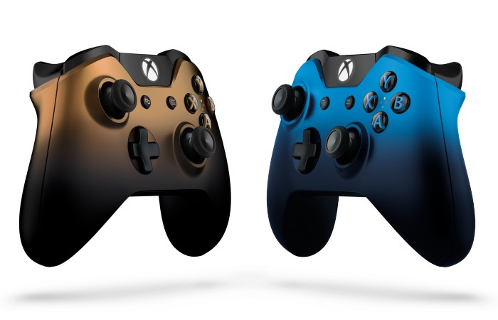 Dusk Shadow And Copper Shadow Xbox One Special Edition Wireless Controllers