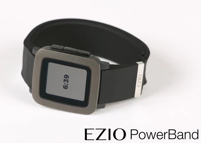 EZIO PowerBand For Pebble Smartwatches