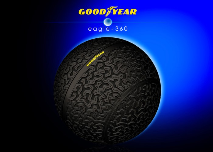 Eagle 360 Goodyear 3D Printed Tire Concept