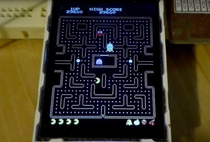 Enjoy A Game Of Arduino Pac-Man