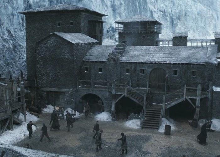 Explore Game Of Thrones Castle Black VR