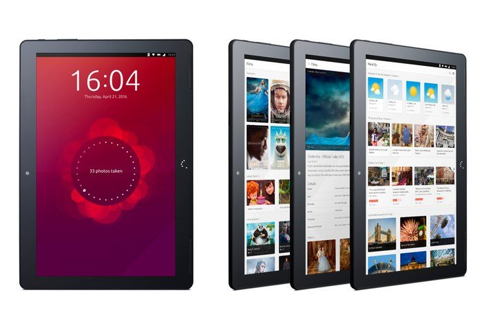 First Ubuntu Tablet