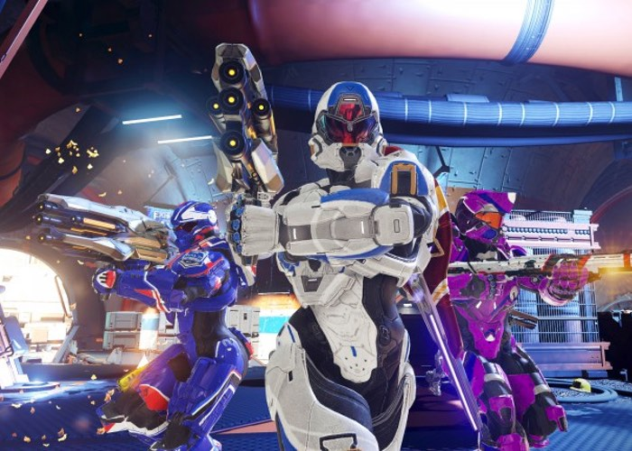 Halo 5 Warzone Firefight Mode