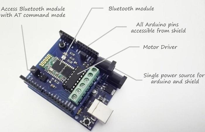 Jet Pack Arduino Shield