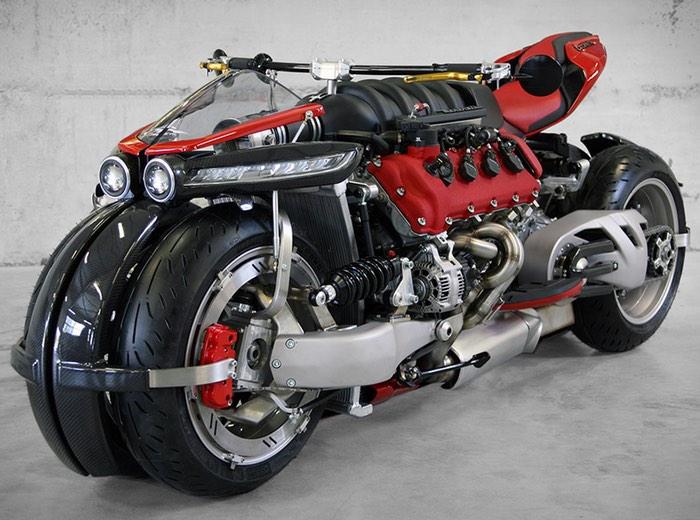 Lazareth LM847 Quad Motorcycle
