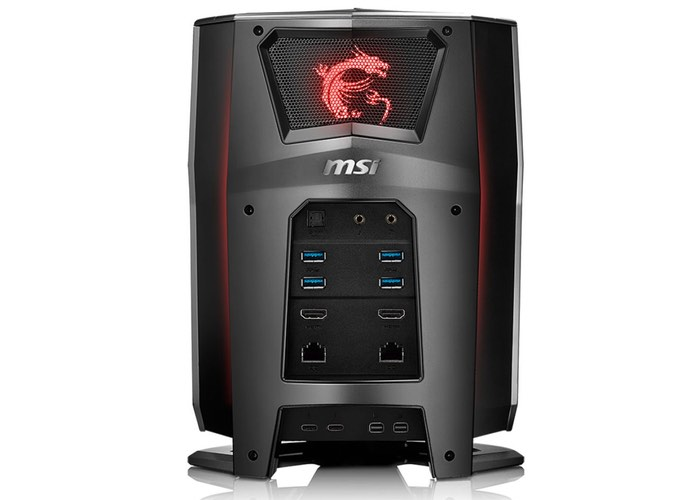 mini msi vortex gaming pc equipped with dual nvidia. Black Bedroom Furniture Sets. Home Design Ideas