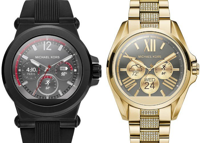 timeless design look good shoes sale sells Michael Kors Android Wear Smartwatches Unveiled For $395 ...