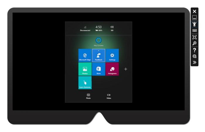 Microsoft HoloLens Emulator
