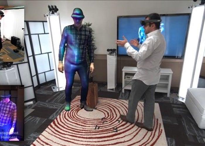 Microsoft HoloLens Holoportation