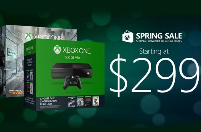 Microsoft Spring Sale Prices Xbox One At $299