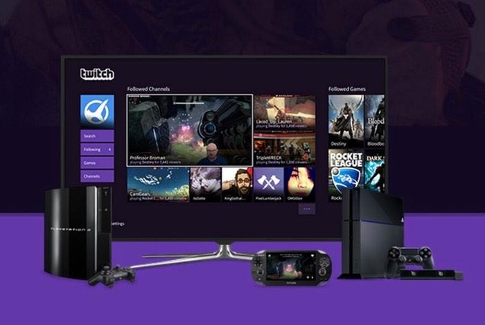PS4 Twitch App