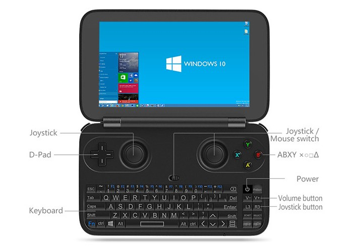 Pocket Windows 10 Laptop