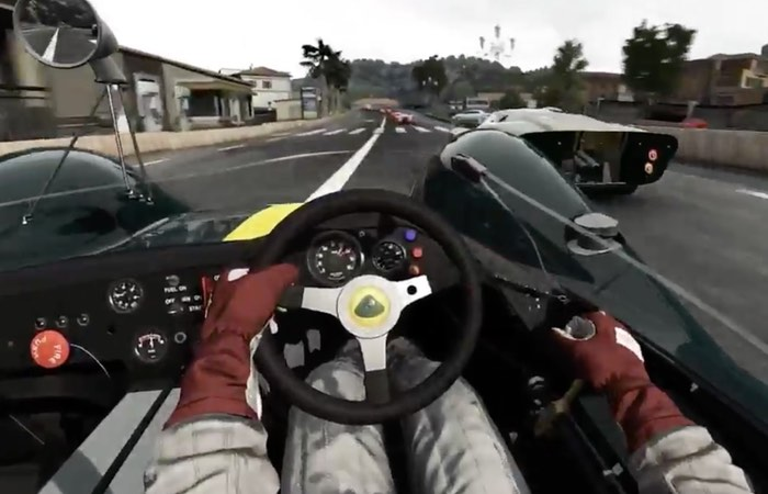 Project Cars on Oculus Rift Teased