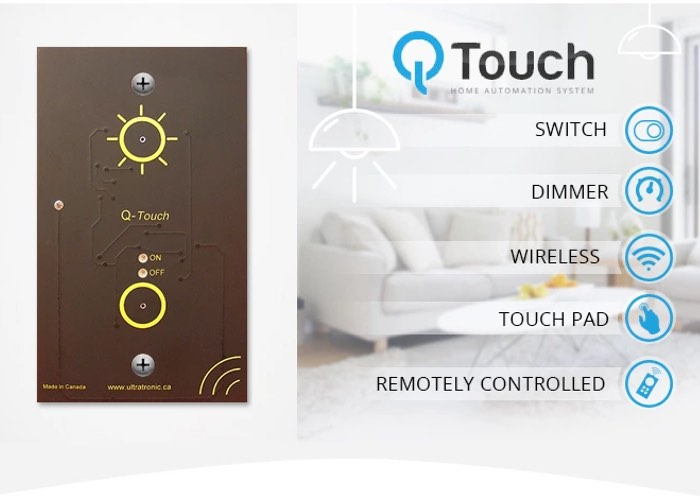 Q-Touch Home Automation System
