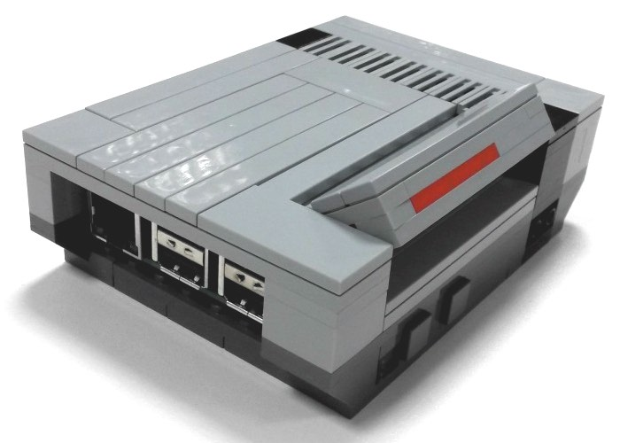 Awesome Raspberry Pi Lego NESPi Case