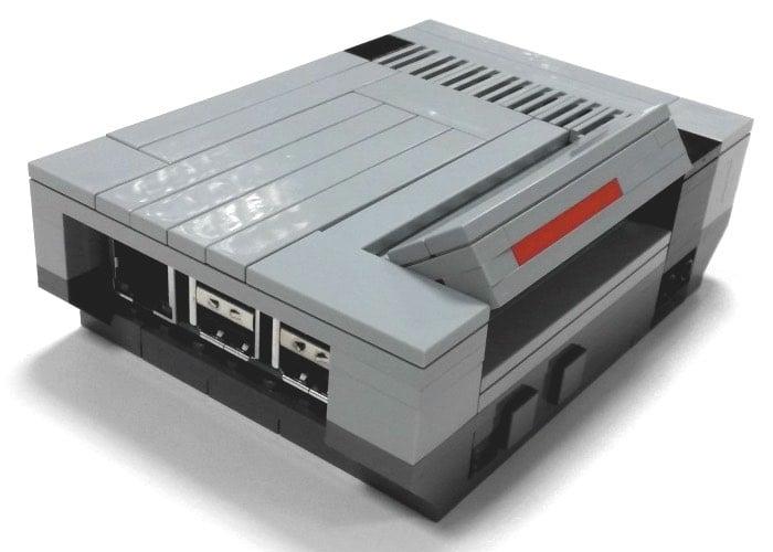 Awesome Raspberry Pi Lego NESPi Case