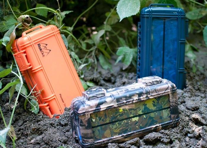 RokPak Drybox And Solar Battery Pack