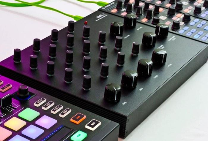 Rotary DJ MIDI Mixer