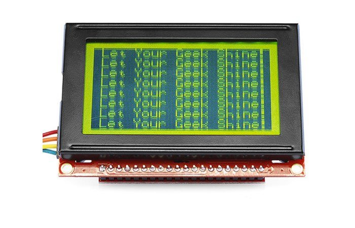 SparkFun Serial Graphic LCD 128x64
