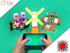 Tio Robotic Building Block System For Kids (video)