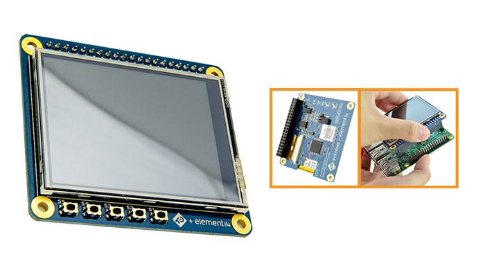 Universal 2.4 Primary Display 4DPi-24-HAT