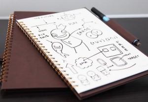 Wipebook Pro Portable Whiteboard Notebook Hits Kickstarter (video)