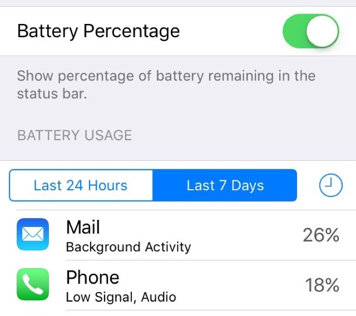 Improve iPhone Battery Life