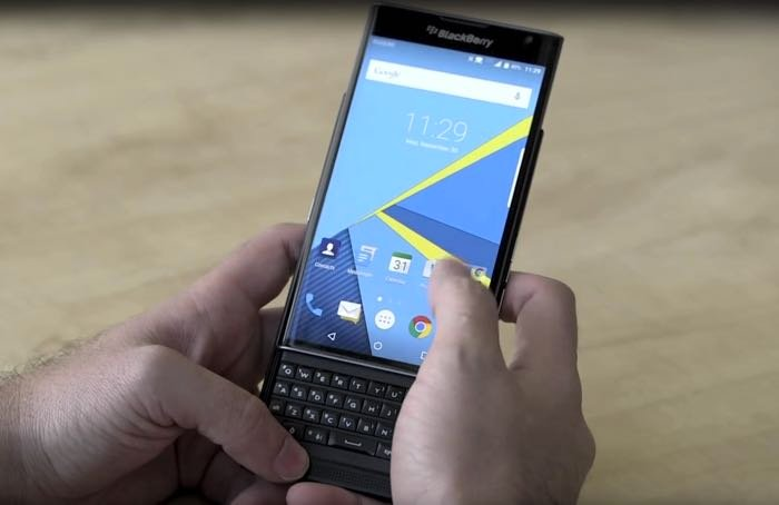 BlackBerry Priv arrives at Verizon