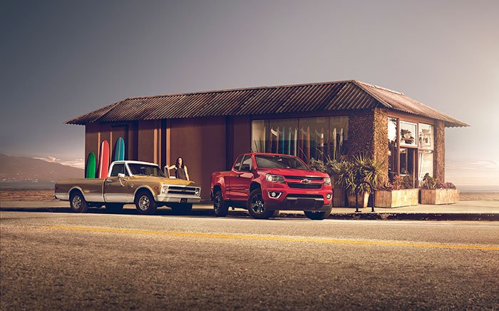 2017 Chevy Colorado Shoreline Aims at LA - Geeky Gadgets