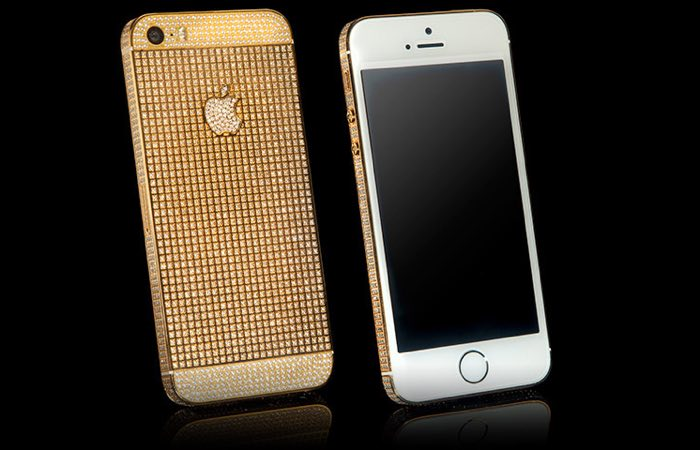 goldgenie iphone SE