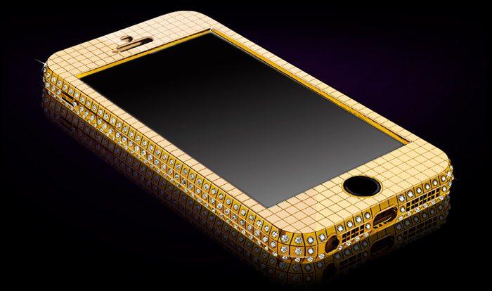 goldgenie iphone SE