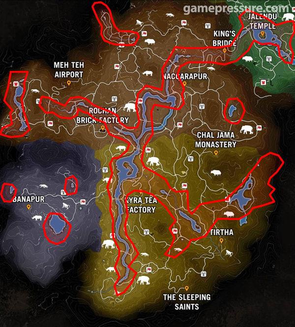 Far Cry Primal map