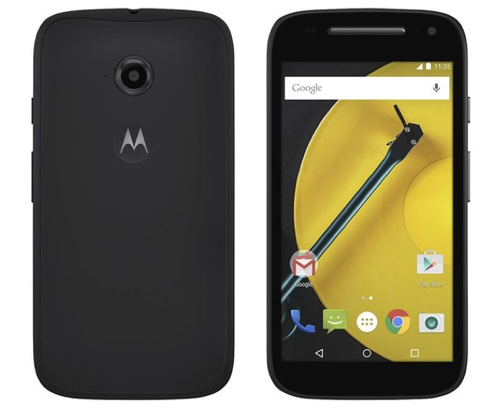 Motorola Lifeline with The Moto E There Will Be Update a Marshmallow for The 2015 Model